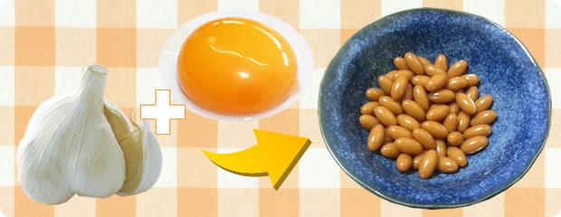 にんにく卵黄の効能・効果